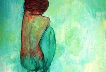 Mermaids / Inspiration for mermaid art