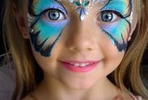 Face painting / Collection of scary & cute face painting ideas