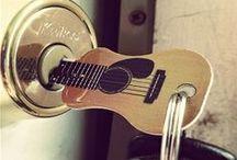 Music / Music inspiration and guitars.