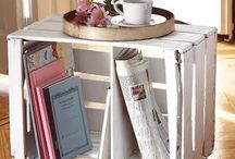 Crates & Pallets / Using crates & pallets for furniture