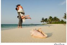 Belize Destination Wedding Resort at Hatchet Caye / With a stunning tropical location for your Destination Wedding, we at Hatchet Caye Belize are ready and excited to give you a memorable exotic dream Belize wedding. http://hatchetcaye.com/belize-wedding/