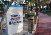 Belize Resort - Staff at Hatchet Caye Private Island / The friendly and helpful staff at Hatchet Caye Resort, Belize.  Ready to make your island fantasy vacation come true. To see all of great Island visit our gallery http://hatchetcaye.com/photo-gallery/