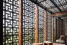 Architectures légères / Pour les jardins et espaces publics