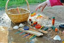 Outdoor Fun and Nature Exploration / Plenty of activities to promote outdoor play and develop those gross motor skills as well as exploring natural resources.
