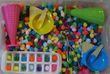 Sensorial Activities / Activities and handy tips to help children discover and explore their senses.