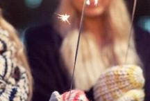 Holiday - Bonfire Night / Sparklers, Fireworks and Blankets