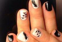 Nails, hair, clothes, makeup, jewelery