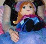 Frozen | Elsa und Anna - Eiskönigin crafts / Basteln mit Kindern - Bastelideen zum Thema Eiskönigin und Disney Prinzessinnen