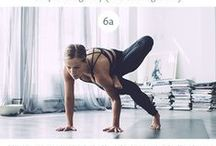 :yoga / tips and workouts to make you stronger and more flexible