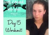 #SweatySelfie / Pics of your beautiful selves and the main girl herself, Lucy, working out!