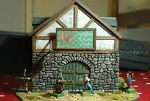 Griffin's Exotic Goods / Model of a warehouse / Shop for skirmish games (e.g. Mordheim, Frostgrave, Malifaux). Could be used as a Inn as well.