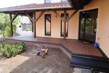 Garten Terrassen aus UPM ProFi Deck Terrassendielen / Hier sehen Sie Bilder von UPM ProFi Deck Garten-Terrassen die von unseren Kunden selbst montiert wurden.