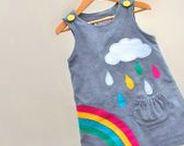 Nähideen | sewing for girls / Nähideen speziell für Mädchen - bunt, knallig, schöne Schnitte