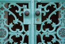 Doors windows & gates / by Denise Faltoni
