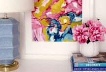 White & Colour Decor Nicheness / Decorating with white and bright pops of colour. Joyous interiors! / by Nicheness