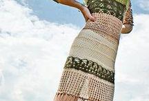 Одежда вязаная (платья летние) / by w2208
