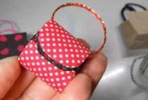 手作り小物 / 着物に合うドール用和風バッグや最新作の御祝儀袋、 等 手作り小物満載です。