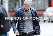 Friends of Moncler / From the Karakorum Mountains to the streets of Milan, the soft goose-feather jacket had become a must-have classic for every contemporary wardrobe. The timeless elegance of the Moncler down jacket, an emblem of absolute modernity, has won the affections of style icons, international stars, and adventurous trendsetters.