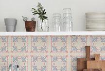 Cozinhas / Projetos de interiores especialmente de cozinhas