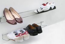 Shoe Storage Ideas / Fun and clever ways of storing and organising shoes