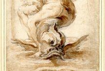 Bernini / Dibujos de Bernini
