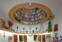 Bookshelves / The amazing world of bookshelves. Because our books deserve the very best resting places. :)