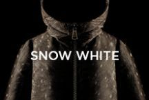 Snow White / Return to the innocence and wonder of childhood, to a world of magic woods and amazing creatures, elves and playful gnomes. Like a Nordic Tale... this is your fairytale: are you ready? / by Moncler