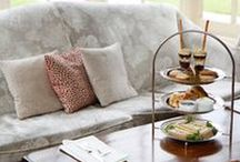 Afternoon Tea UK / Fabulous places to enjoy afternoon tea and tips on making your own! :-)
