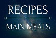 Recipes - Main Meals