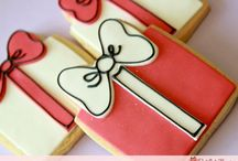 Decorated Biscuits / by Rebekah Marche'