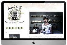 DIGI / Website layout and design