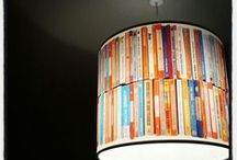 Upcycled Furniture / Inspiration for our annual contest to create great pieces of furniture with deselected books!