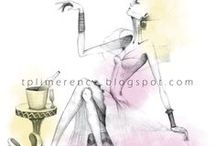 Fashion Illustration / Ilustraciones de moda