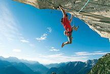 Falaise - Rock Climbing / Clichés de grimpeurs en extérieur