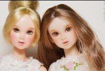momoko & unoa light / by miss nako doll