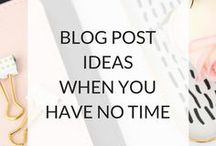 Bloggy Stuff / All things blogging