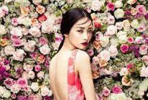 Women / Flowers/Drama/Pretty