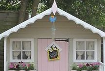 Playhouse Ideas / Playhouse / summerhouse ideas for toddlers and kids in the garden