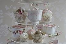 English Afternoon Tea / Celebrating everything that is quintessentially English with utterly scrumptious afternoon tea ideas to drool over and that are to die for. Definitely not Slimming World friendly with cakes, finger sandwiches, vintage crockery and China and pretty gorgeous shabby chic antique ideas. Enjoy!