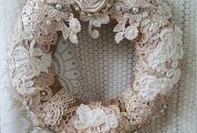 Vintage Lace / I am currently obsessed with all things vintage lace. The elegance and beauty of it - from wedding dresses, to doilies to pretty bunting. Sharing the love