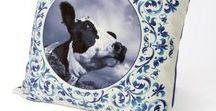 Delftsblauw collectie ** Blik op Holland / Blik op Holland maakt kussens met unieke afbeeldingen. De kussens zijn van hoog kwalitatieve en duurzame materialen..................  Kijk voor meer informatie en verkoop in onze webwinkel Blik op Holland  #wonen #delfts-blauw #inrichting