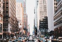 New York / It is my ultimate dream to travel to New York.