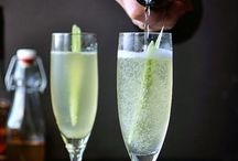 Cocktails / Lots of cocktails, bubbles, fizz, gin and prosecco tipples