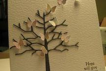 Butterflies / Handmade cards or art featuring butterflies