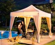 Elegant folding tents / Folding tents for special events. The concept of the functional MASTERTENT is combined with stylish design and ultimate luxury for special occasions.  More details: http://www.mastertent.com/en/tents/royal/royal-27.html