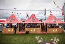 Tents and stands for fairs and markets / MASTERTENT offers many individual solutions for every need!  http://www.mastertent.com/en/tents/shop-with-awning/shop-with-awning-20.html