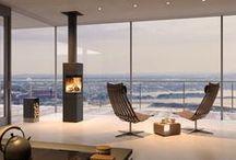 Nordpeis / Fireplace Stove Norway Render