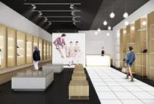 I.P. CONCEPT STORE / Status: PROPOSAL | Size: 1290sft / 120sqm | Location: Bucharest | Type: Retail