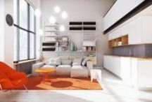 BERLIN LOFT / Status: COMPETITION SUBMISSION | Size: 700sft / 65sqm | Location: Berlin | Type: Residential