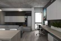 V.U. APARTMENT / Status: IN PROGRESS | Size: 700sft / 65sqm | Location: Bucharest | Type: Residential